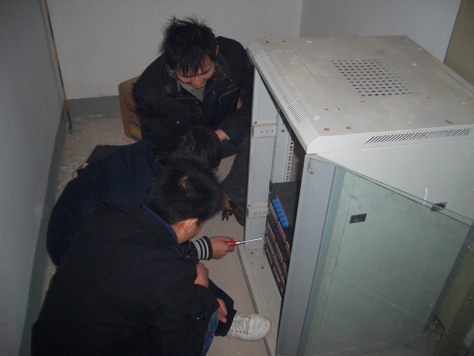 网络项目案例:西安电子科技大学网络工程 - 61