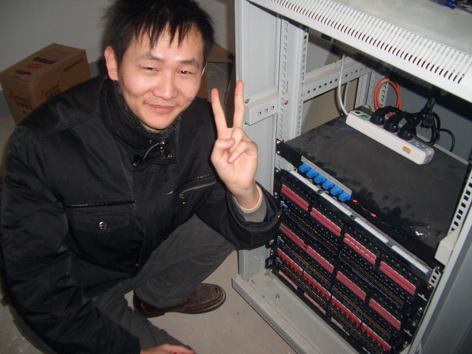 网络项目案例:西安电子科技大学网络工程 - 56